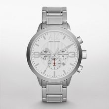 AX1278 Street Gents Silver Bracelet Watch