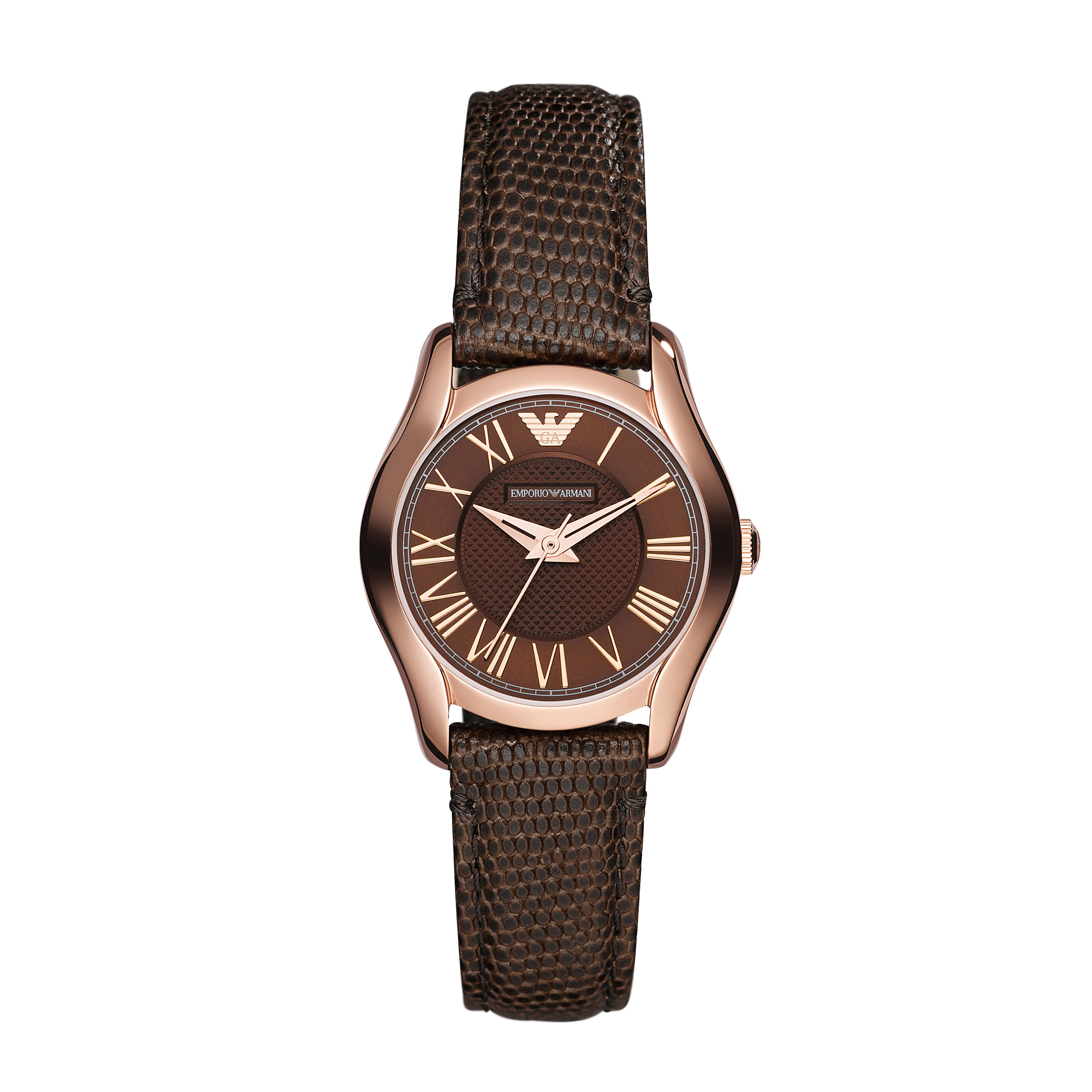 AR1714 Classic Brown Leather Ladies Watch