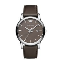 AR1729 Classic Brown Leather Mens Watch