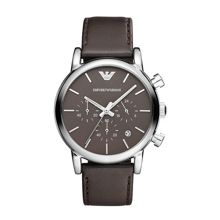 AR1734 Classic Brown Leather Mens Watch