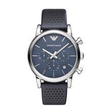Emporio Armani AR1736 Classic Blue Leather Mens Watch