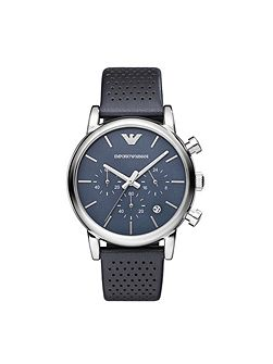 AR1736 Classic Blue Leather Mens Watch