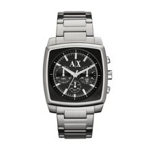 AX2253 SMART silver stainless steel mens watch