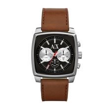 AX2251 SMART brown leather mens watch