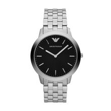 AR1744 Classic Silver Mens Bracelet Watch