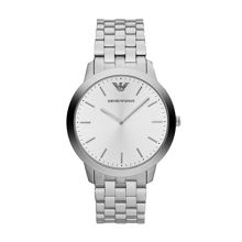 AR1745 Classic Silver Mens Bracelet Watch