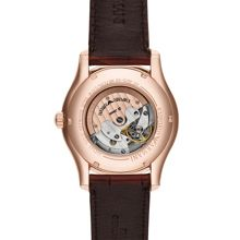 AR4675 Classic brown leather mens mechanical watc