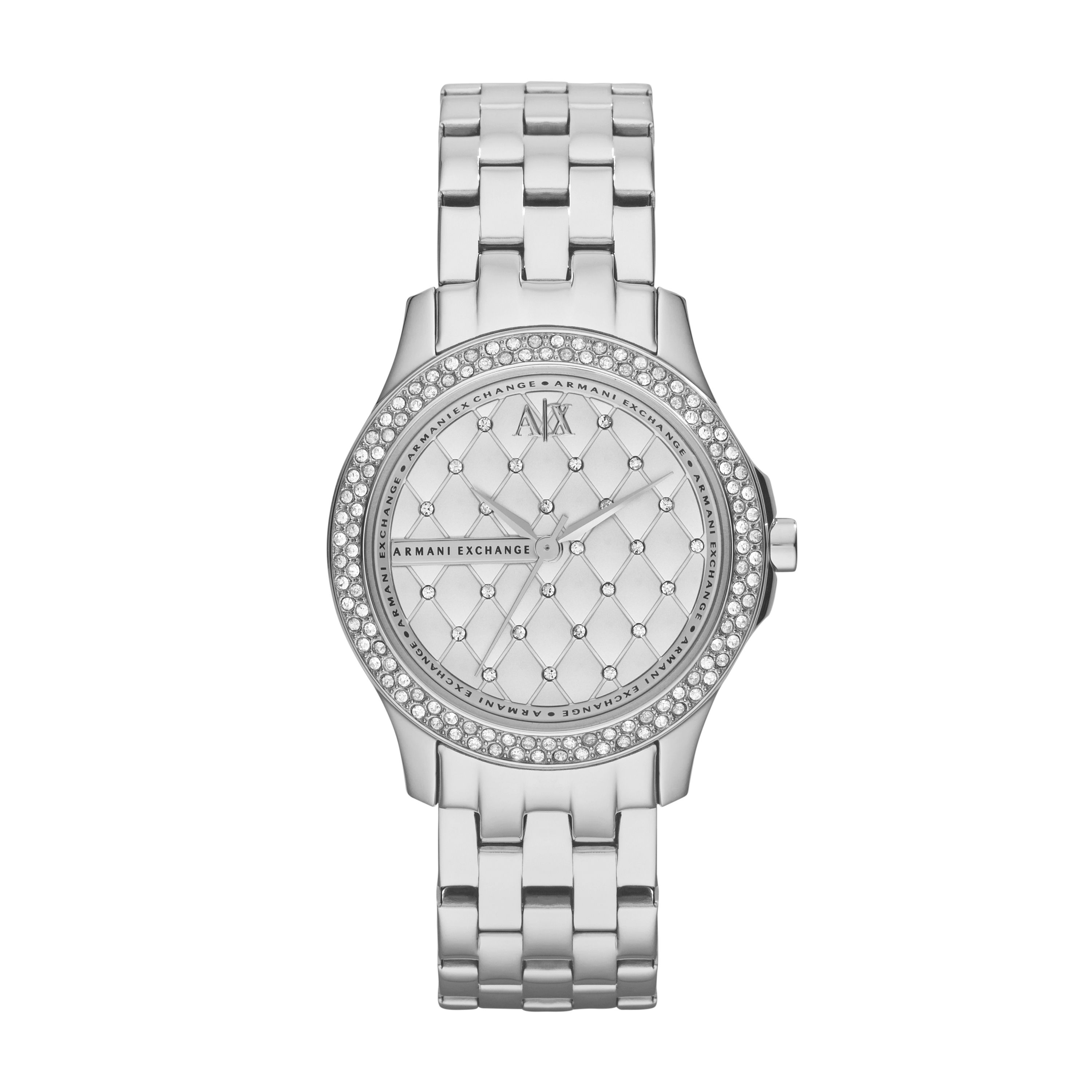 AX5215 SMART silver stainless steel ladies watch
