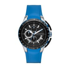 AX1410 Gents Blue Silicone Chronograph Watch