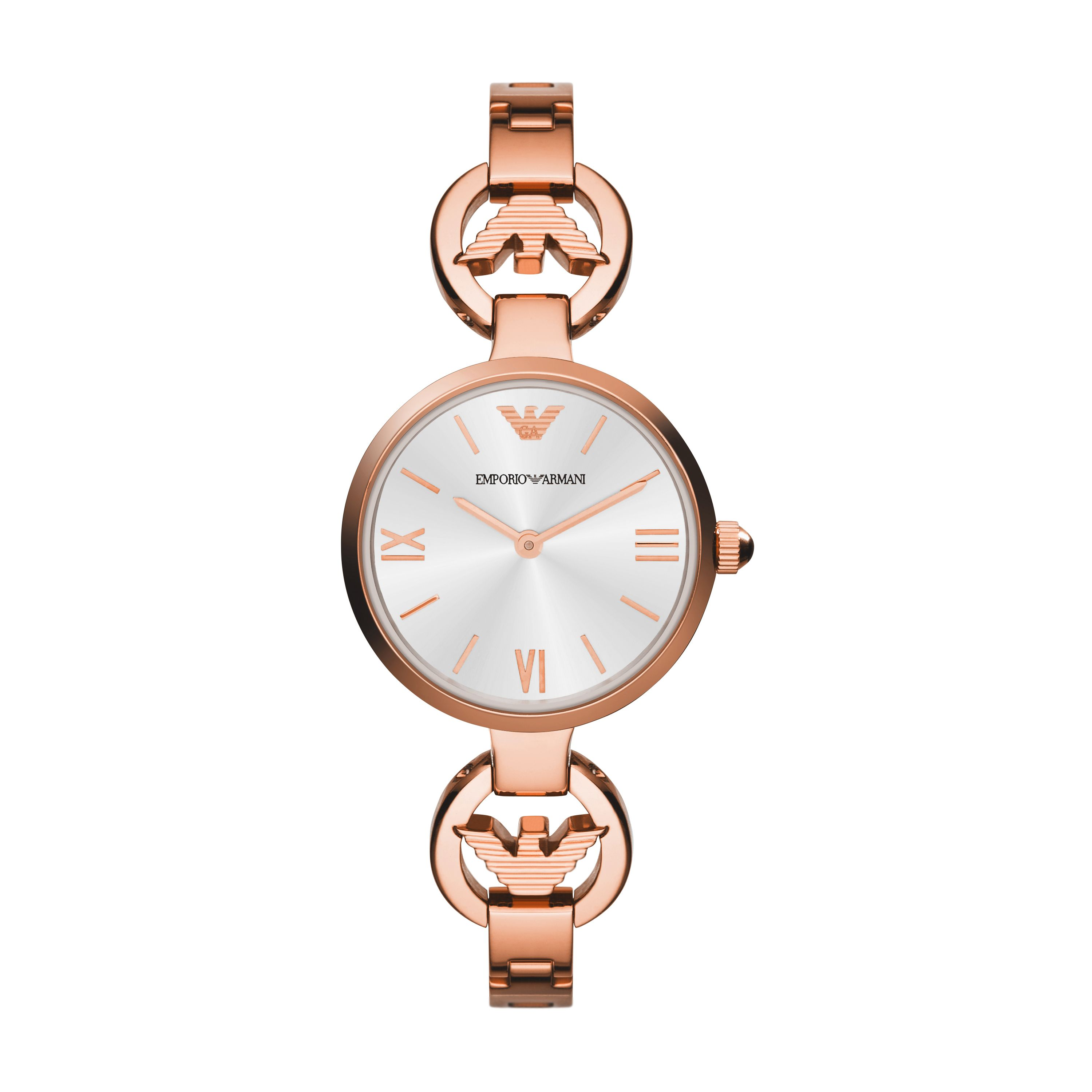 AR1773 Retro Rose Gold Ladies Bracelet Watch