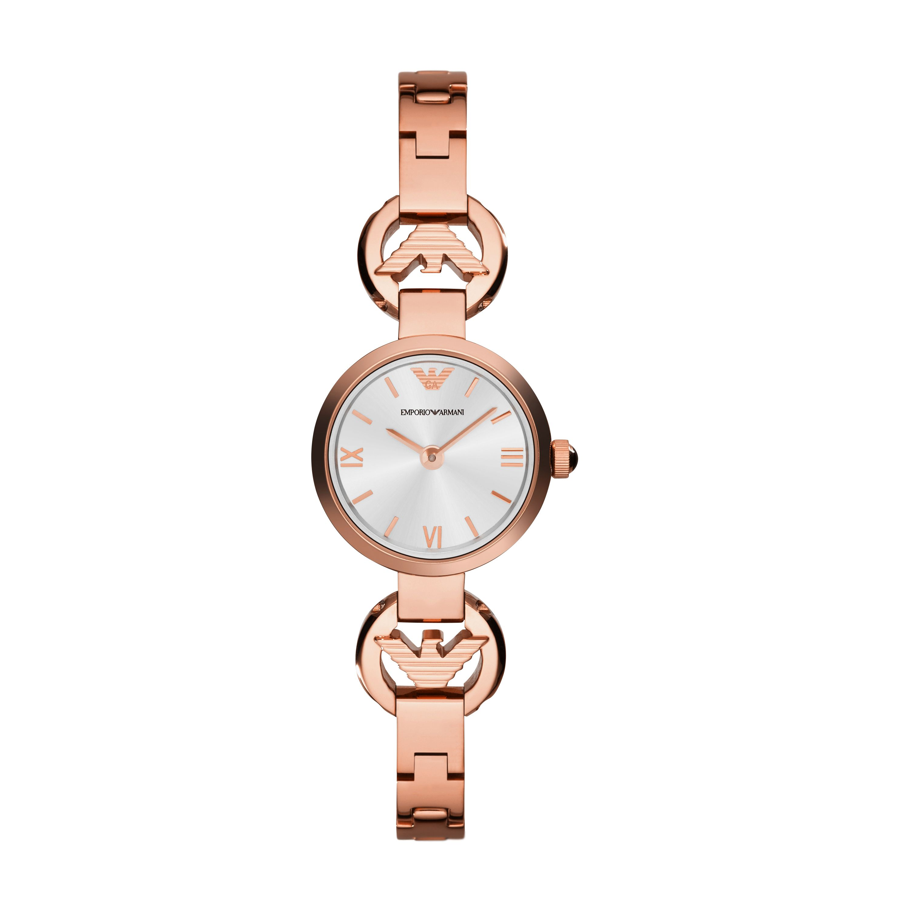 AR1776 Retro rose gold ladies bracelet watch