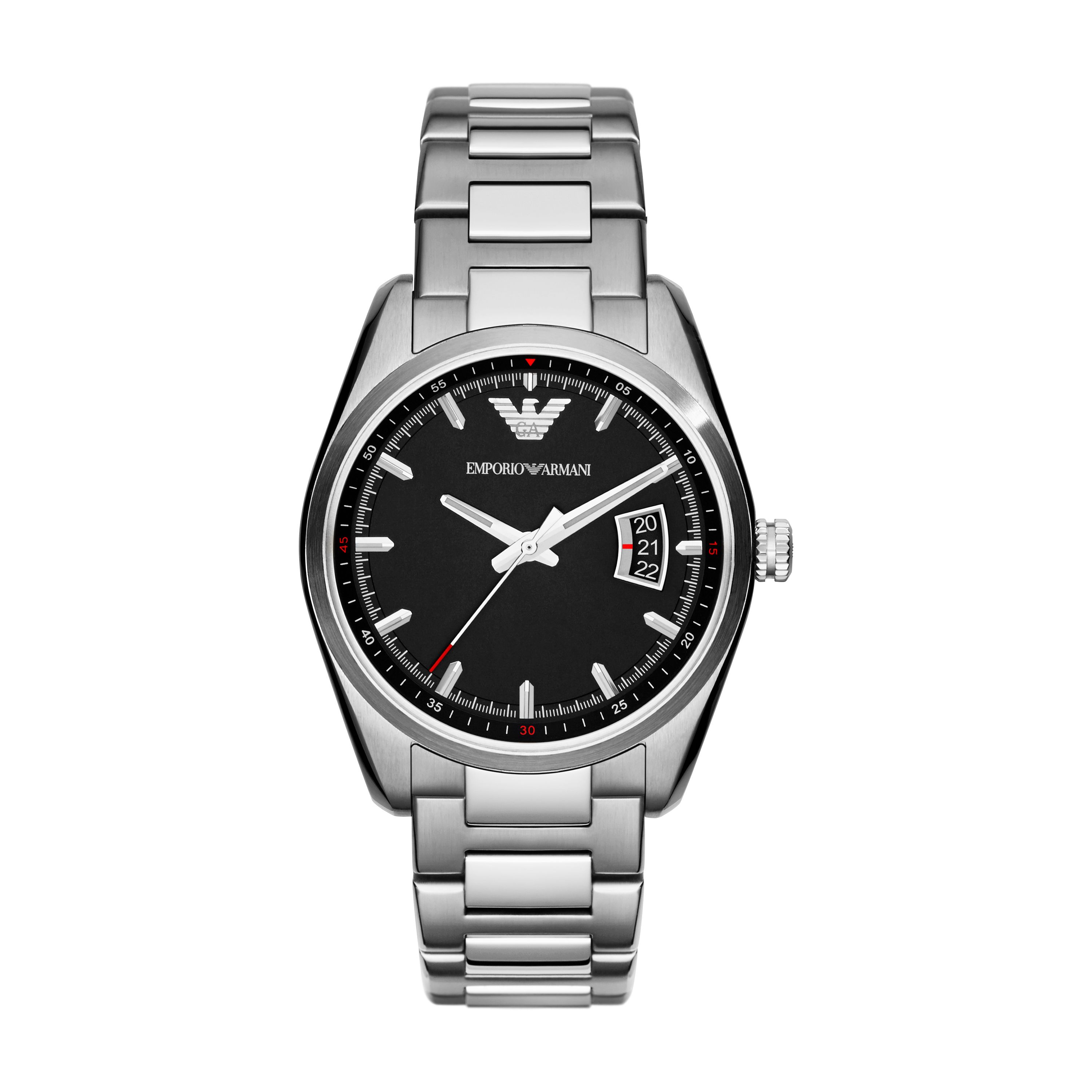 AR6019 Sportivo Silver Mens Bracelet Watch