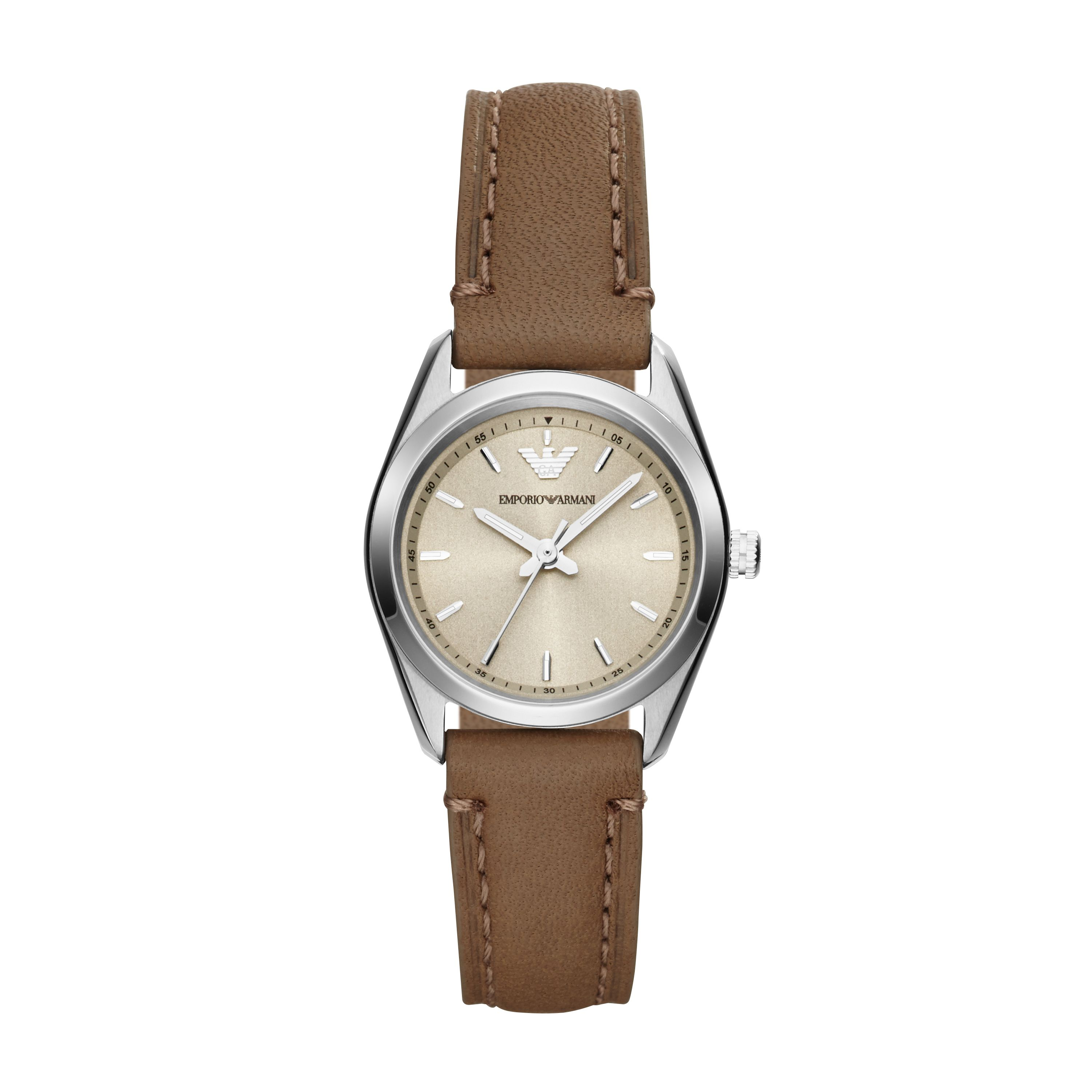 AR6027 Sportivo Tan Leather Ladies Watch