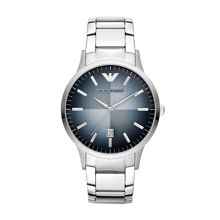 AR2472 Classic Silver Mens Bracelet Watch