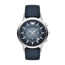 AR2473 Classic Blue Leather Mens Watch