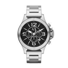 AX1501 STREET silver stainless steel mens watch