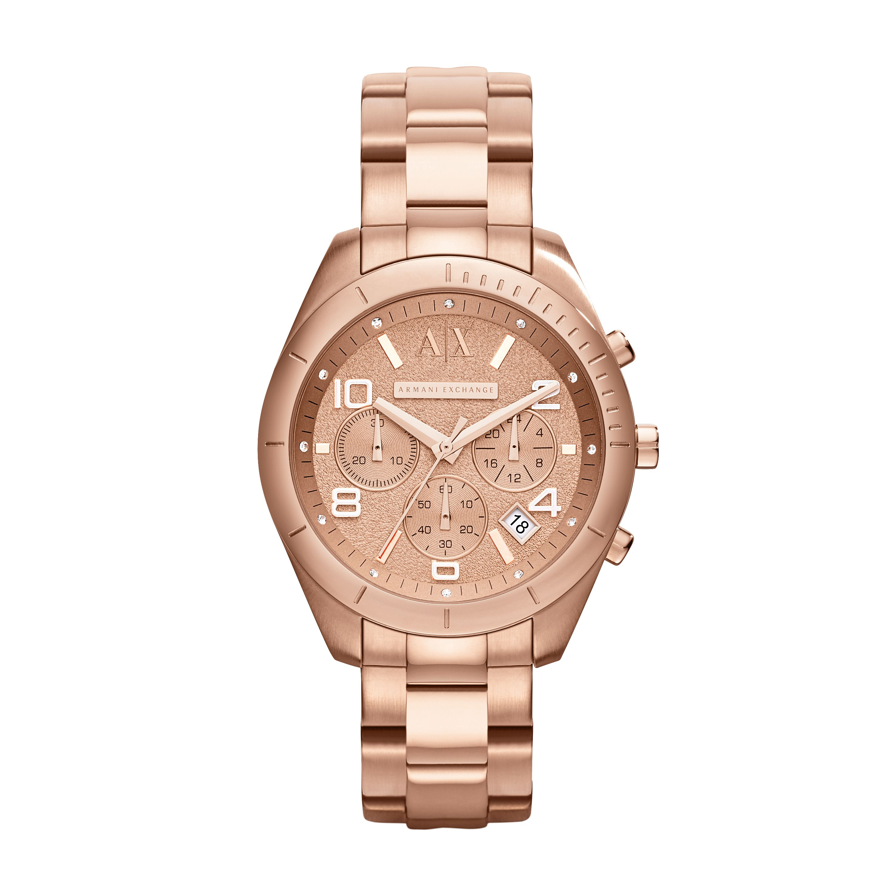AX5501 ACTIVE stainless steel ladies watch