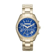 AX5503 ACTIVE gold stainless steel ladies watch