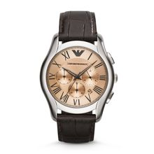 AR1785 Classic Brown Leather Mens Watch