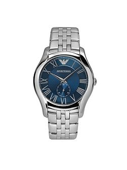 AR1789 Classic Silver Mens Bracelet Watch
