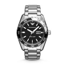 AR6047 Sport Silver Mens Bracelet Watch