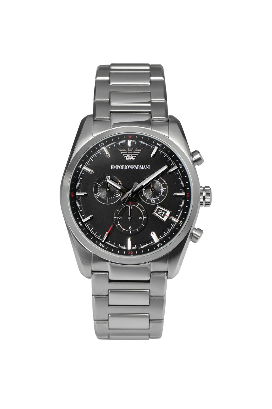 AR6050 Sport Silver Mens Bracelet Watch