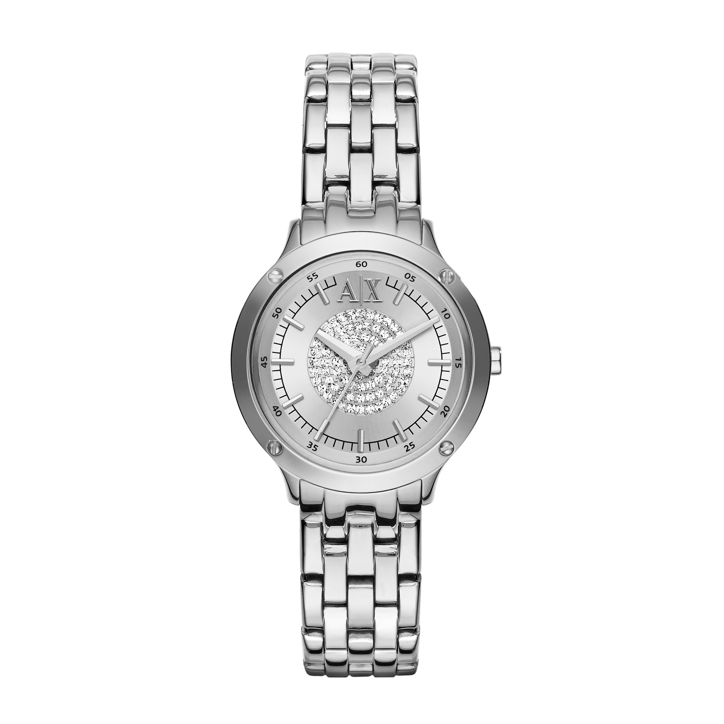 AX5415 Ladies active silver bracelet dress watch