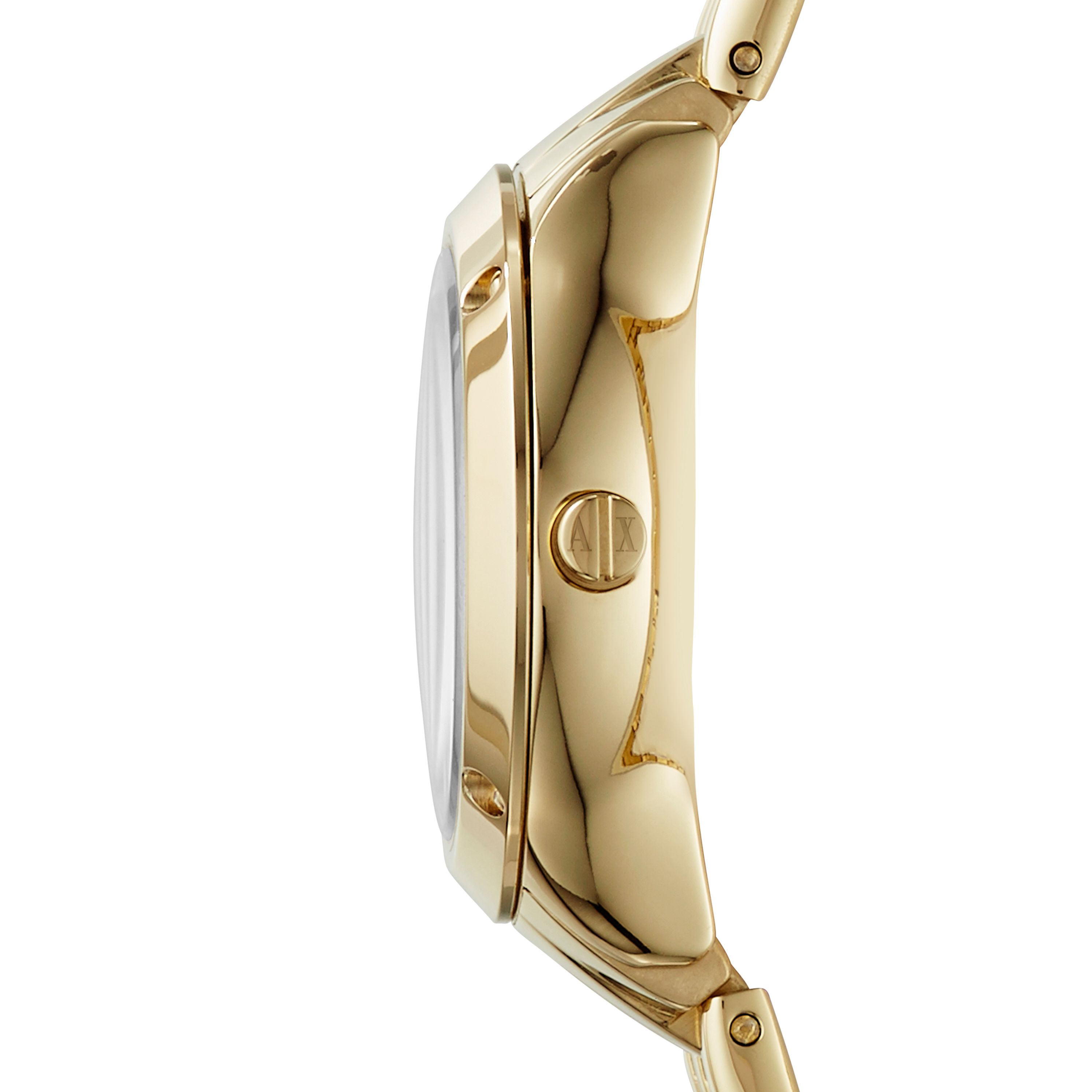 AX5417 Ladies active gold bracelet dress watch