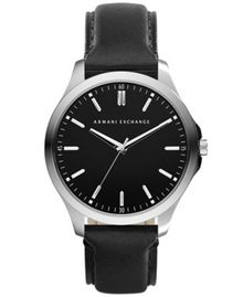Armani Exchange AX2149 Mens Black Buckle Watch