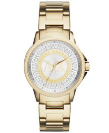 AX4321 Womens Gold Bracelet Watch