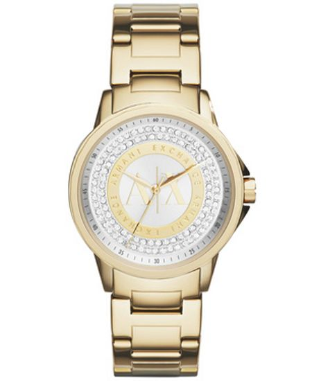 Armani Exchange AX4321 Womens Gold Bracelet Watch