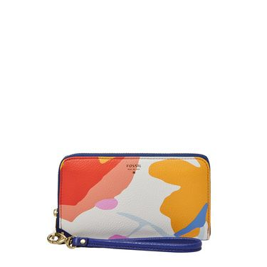 Fossil Sydney Womens Zip Phone Wallet MultiColoured
