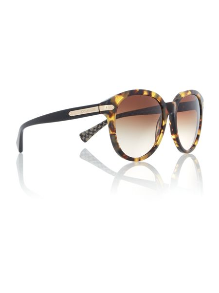 Coach HC8140 round sunglasses