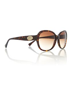 HC8150 female brown square sunglasses