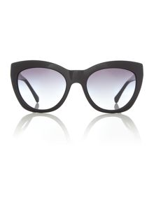 HC8151 female black cat eye sunglasses