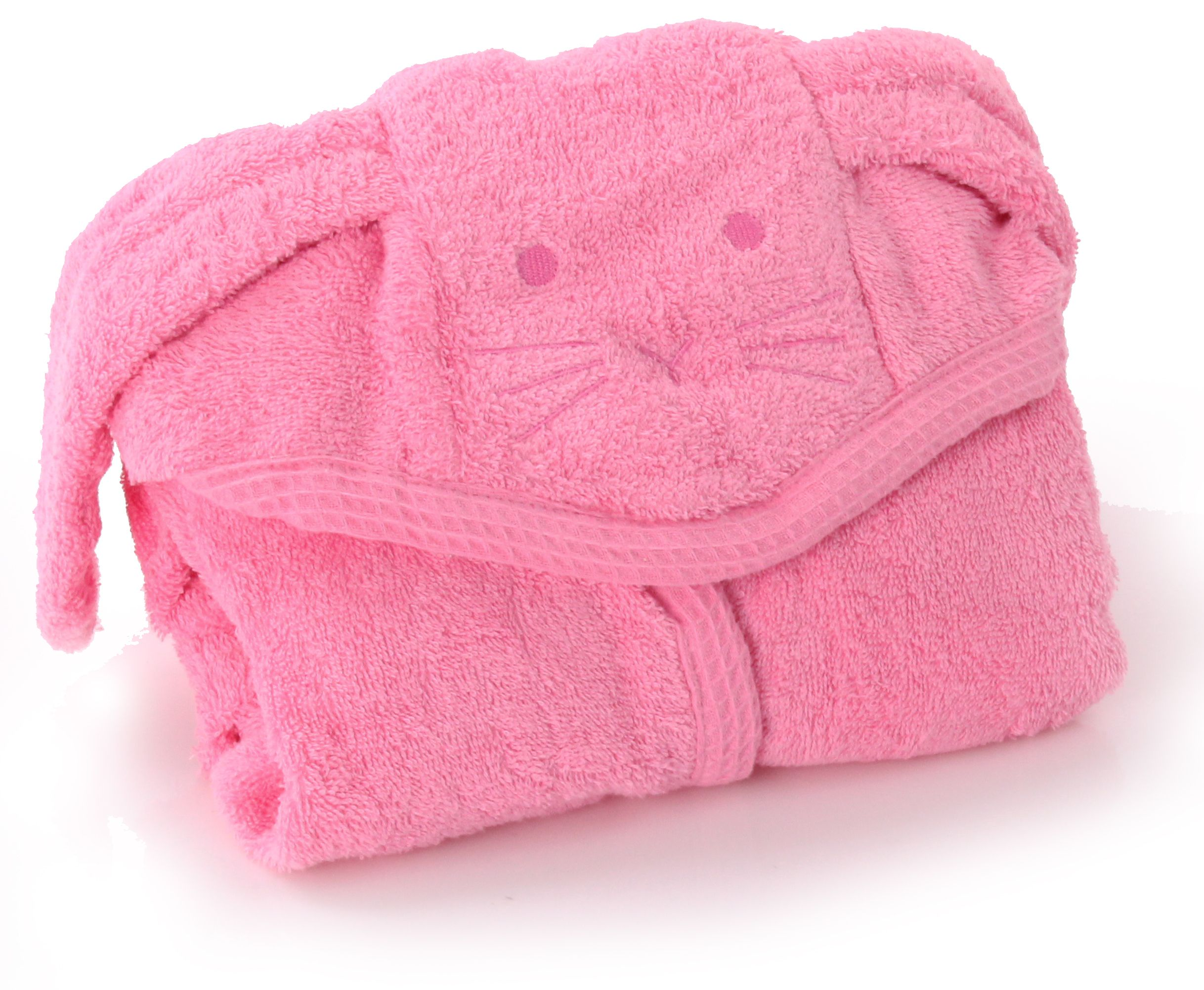 Hooded cuddly towel