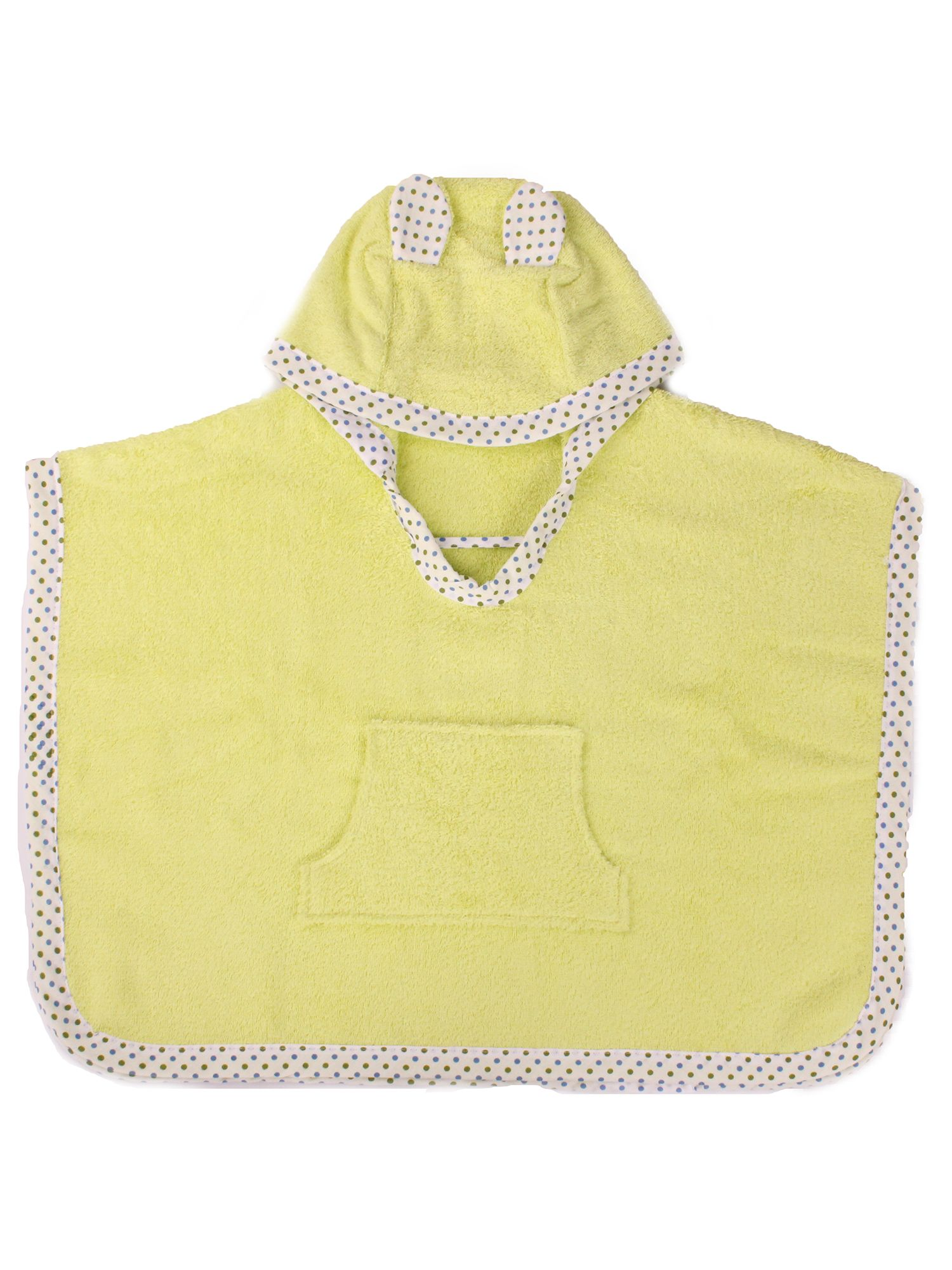Kid`s hooded poncho bath towel