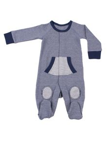 Minene Boys winter cotton sleepsuit