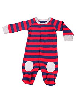 Boys winter cotton sleepsuit
