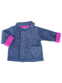 Girls fleece coatigan