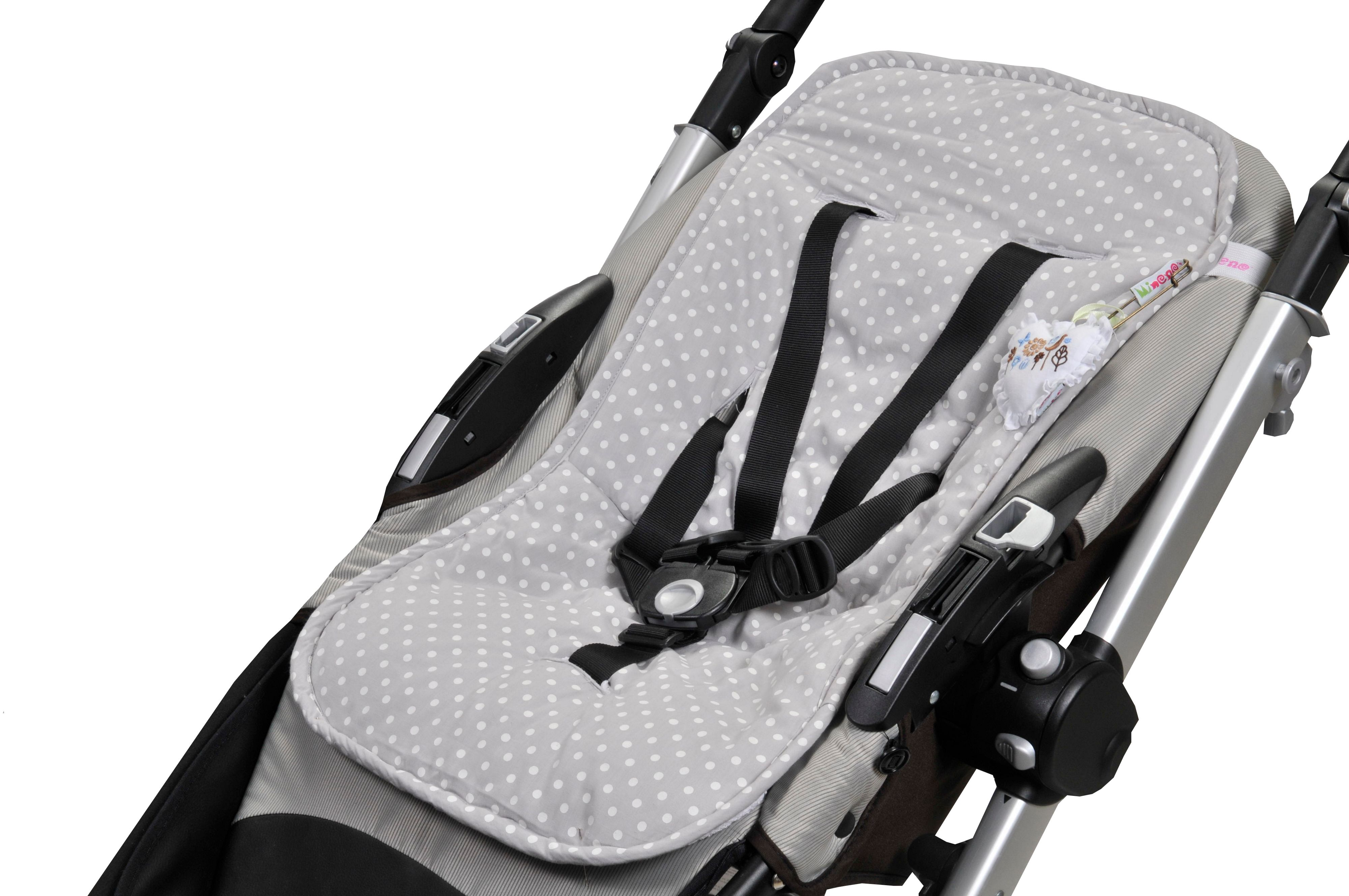 Reversible push chair liner