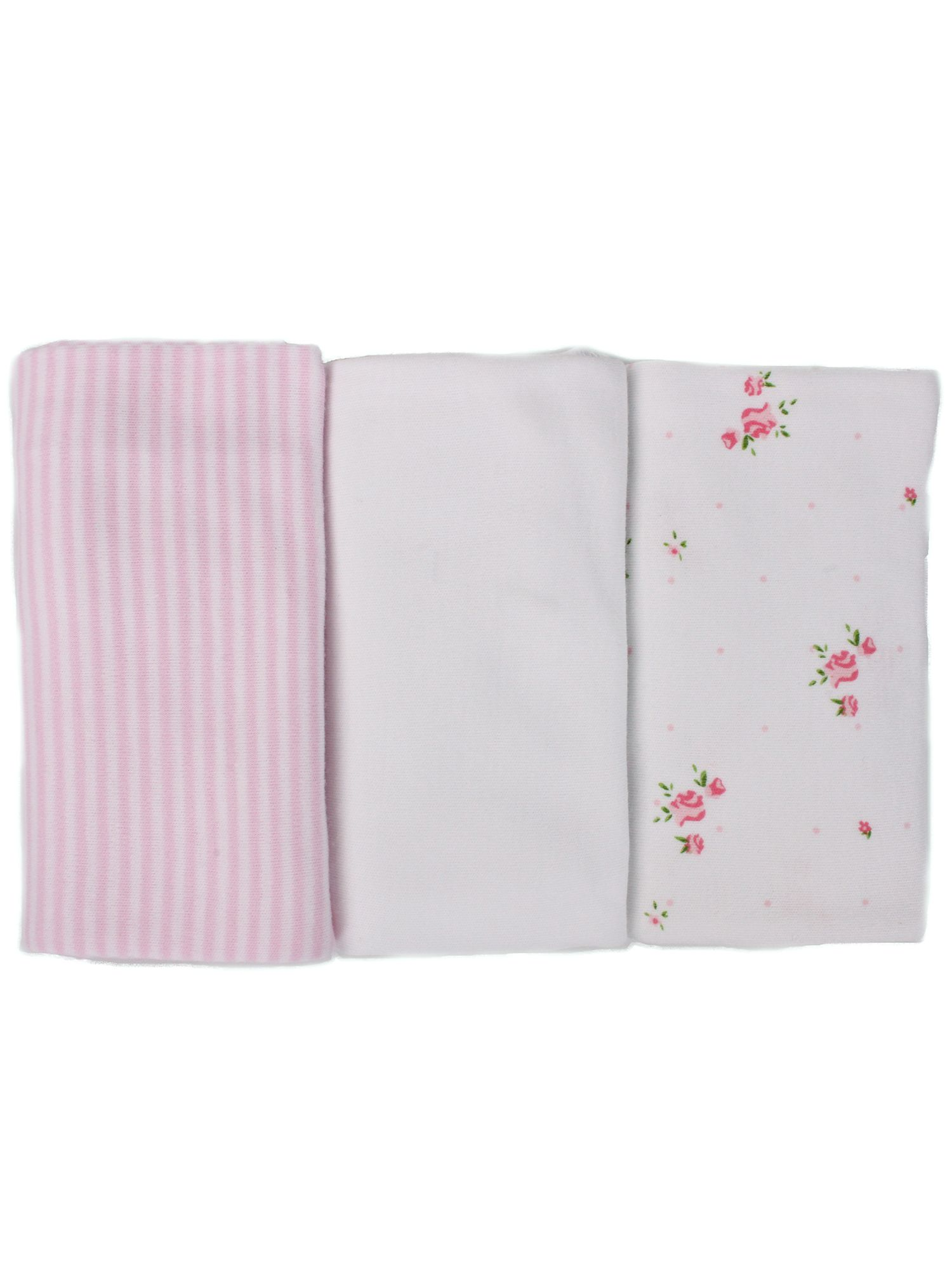 Girl`s cotton dribble cloth