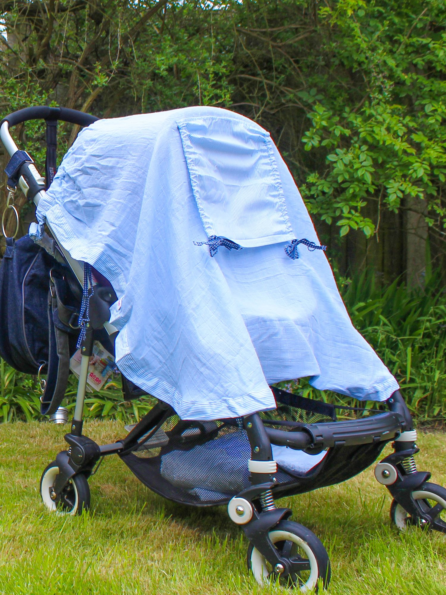 Pushchair sunshade