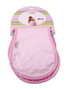 Baby girls burp cloth