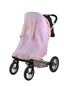 Girls Muslin Pushchair Sunshade