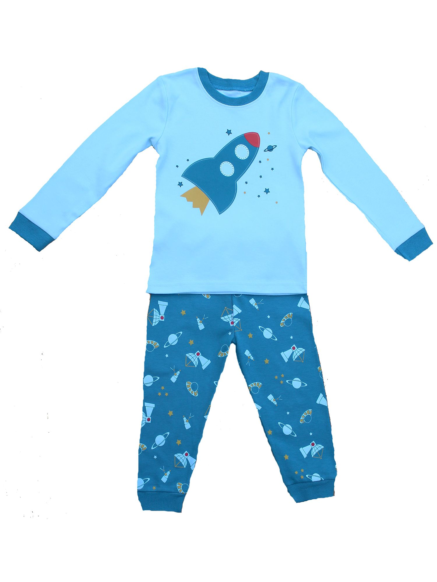 Boy`s rocket pyjamas
