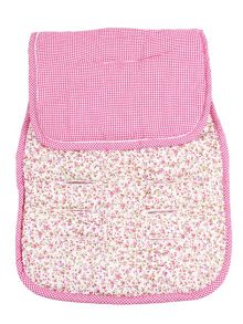Minene Girls Reversible Cotton Pushchair Liner
