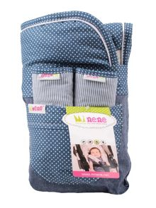 Minene Girls Reversible Liner & Strap Set