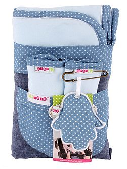 Pushchair Liner & Strap Set