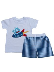 Boys short pyjamas- alien